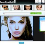 FaceScribble: Editor de imágenes online