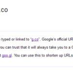 G.co: El nuevo acortador de urls de Google