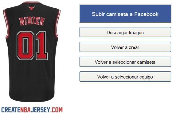 Create NBA Jersey