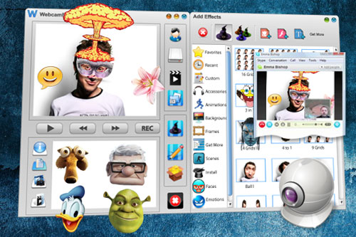Free Webcam Effects