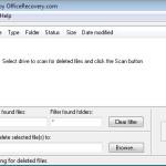 FreeUndelete: Recuperar archivos borrados de la PC