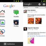Aplicación oficial de Google+ para Android