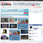 TubGet: Descargar videos de Youtube, Megavideo, etc.