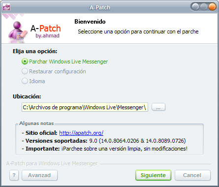 Descargar A-Patch