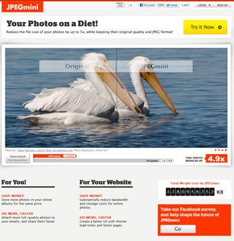 JPEGMini Optimizar imágenes