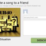 Rexly: Dedica canciones en Facebook