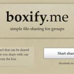 Boxify: Hosting gratis para compartir archivos