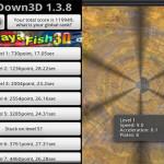 FallDown3D: Dirige la pelota por el túnel y evita cada obstáculo