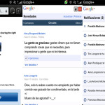 Google Plus: Aplicación web para BlackBerry con SO 6