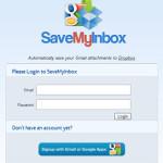 SaveMyInbox: guardar archivos adjuntos de Gmail en Dropbox