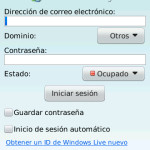 Windows Live Messenger para BlackBerry