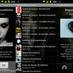 Audiorelatos de Terror: Aplicación de cuentos de terror para Android