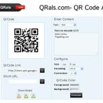 QRals: Aplicación web para crear códigos QR