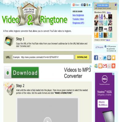Video2Ringtone