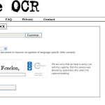 Free-OCR: Convertir imágenes de documentos escaneados a texto