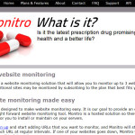 Monitro: Monitorea tus sitios web a cada momento