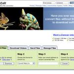 Zamzar: Aplicación para convertir archivos online