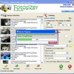 Fotosizer: Optimizar y redimensionar imágenes por lotes