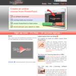SlideBlender: Crear diapositivas online