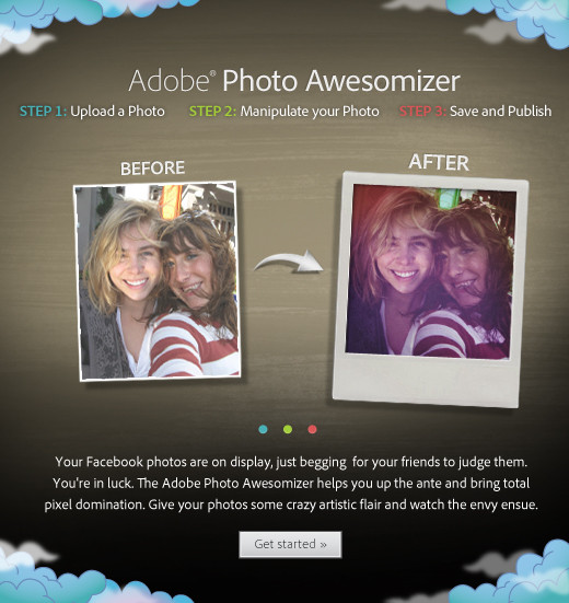 Adobe Photo Awesomizer