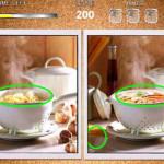 Find differences: Compara y encuentra las diferencias en las imágenes