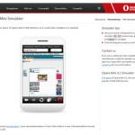 Opera Mini Simulador: Simular el navegador Opera para móviles