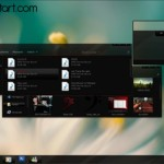 Dark Windows 7 Desktop Theme: Tema gratis para Windows 7
