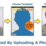 Genera tus propias portadas de revista con Magofun
