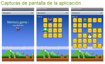 Memory Game Mario Bros
