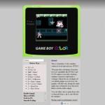 Emulador de GameBoy Color hecho en HMTL5 y Javascript