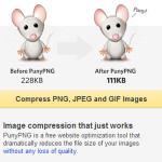 PunyPNG: Aplicación web para optimizar imágenes PNG