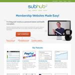 Subhub: Aplicación online para crear sitios web fácilmente