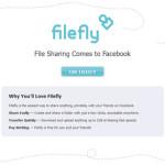 FileFly: Aplicación para compartir archivos en Facebook