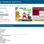Strong Password Generator: Aplicación web para crear contraseñas altamente seguras