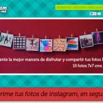 Photogram: Servicio para imprimir fotos de Instagram y con envío gratis