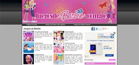 Juegos Barbie