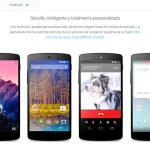Google lanza el nuevo Nexus 5 con Android 4.4 KitKat