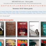MegaEpub: Descarga libros en formato Epub gratis