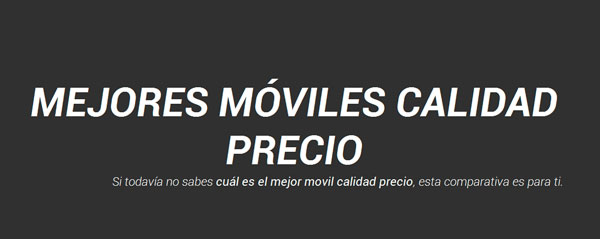 Mejores moviles