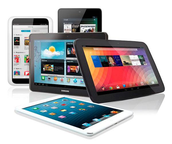 Tablets más vendidas