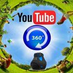 Videos en 360º disponibles en Youtube