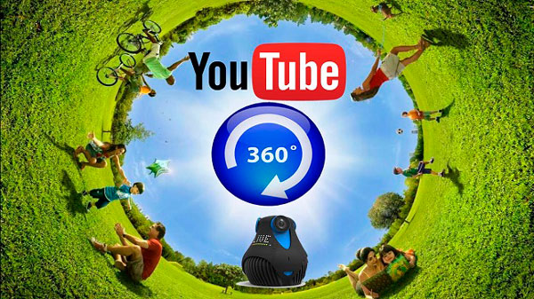 YouTube vídeos en 360