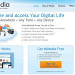 MiMedia: 7gb de espacio web para almacenar archivos en internet