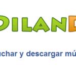 Dilandau: aplicación web para descargar música