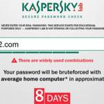 Segure Password Check: Que tan segura es tu contraseña